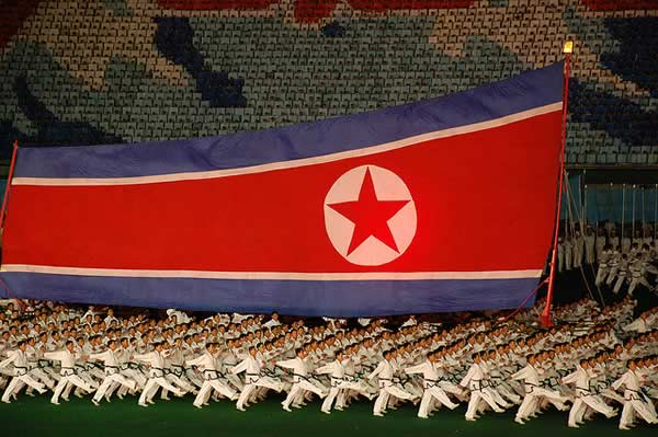 Footage of football in North Korea is scarce and most videos are released by the state