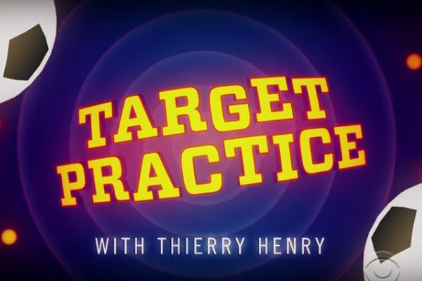 Target Practice with Thierry Henry on The Late Late Show with James Corden