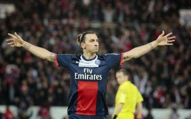 After celebrating, he can laugh at the Zlatan goal jokes following the Fernando error that led to PSG's equaliser against Man City in the Champions League quarter-final first leg