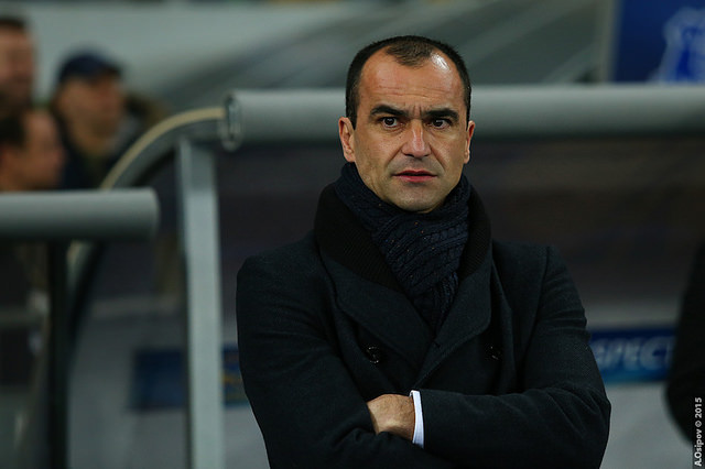 There were lots of Roberto Martínez sacked jokes after it was announced he'd be leaving Everton