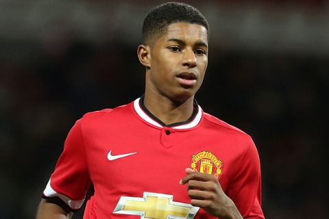 Even as Marcus Rashford scores on his England debut, there are jokes