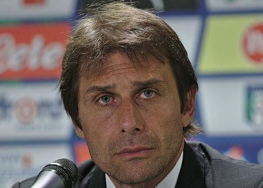 Antonio Conte has signed Leicester's Premier League title for Chelsea