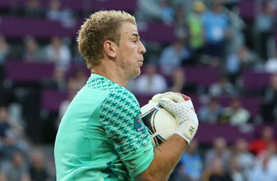 Joe Hart didn't drop the mic on purpose