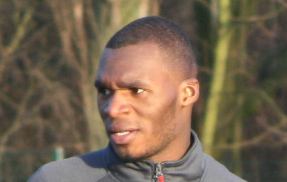 Christian Benteke ballooned a penalty straight into the arms of a fan