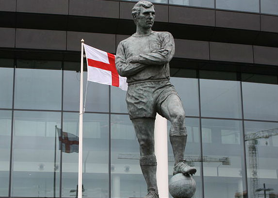Wembley's Bobby Moore statue psyched out Spurs