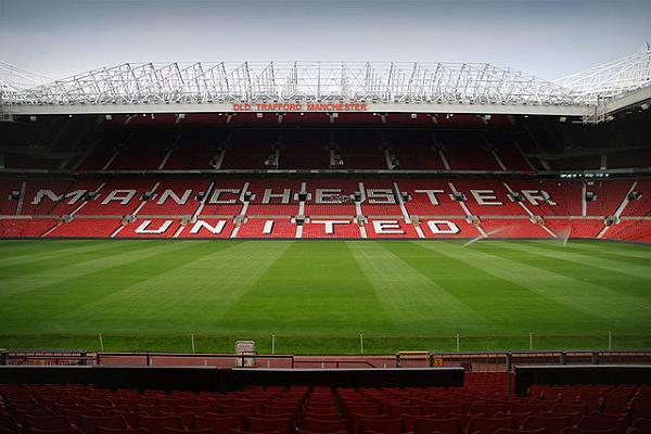 Two fans were able to sleep in Old Trafford overnight before Manchester United vs Arsenal