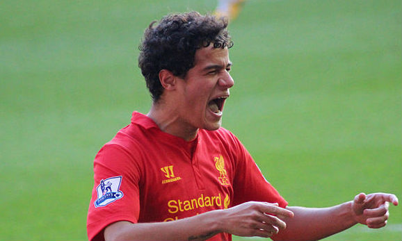 Liverpool's Philippe Coutinho didn't bite any Watford players