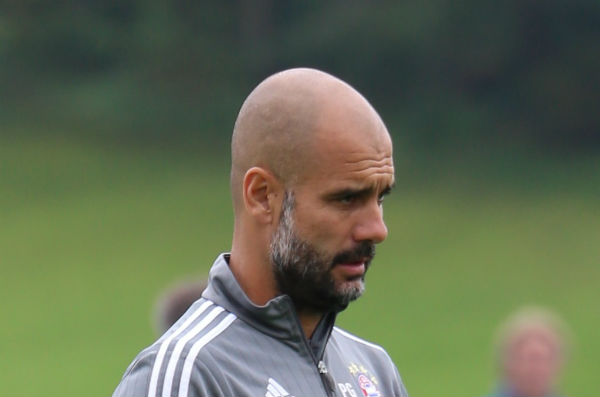 Pep Guardiola is still sulking