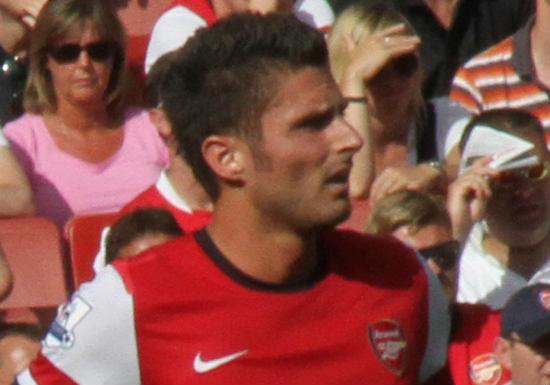 Olivier Giroud started Arsenal 1-2 Watford