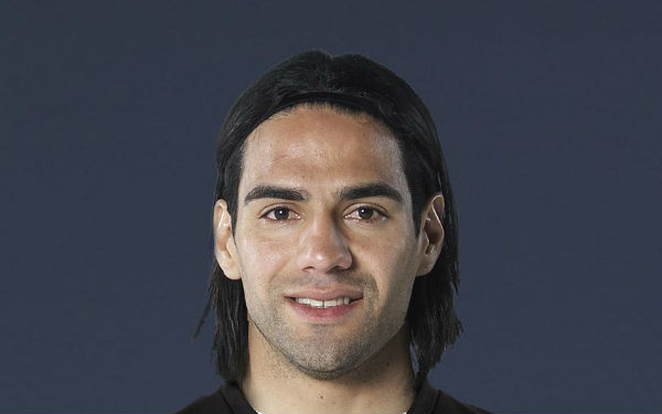 Radamel Falcao scored for Monaco at Man City in the Champions League