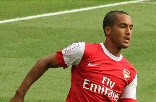 Theo Walcott scored in Arsenal's shock win at Sutton United
