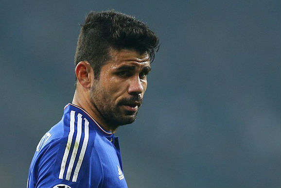 Diego Costa was acting up against Man Utd in the FA Cup last night