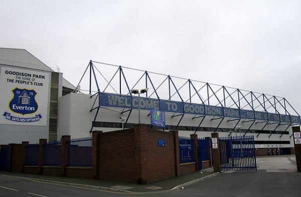 Goodison Park, current stadium of Everton
