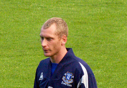 Is this Vladimir Putin or Tony Hibbert at Everton?