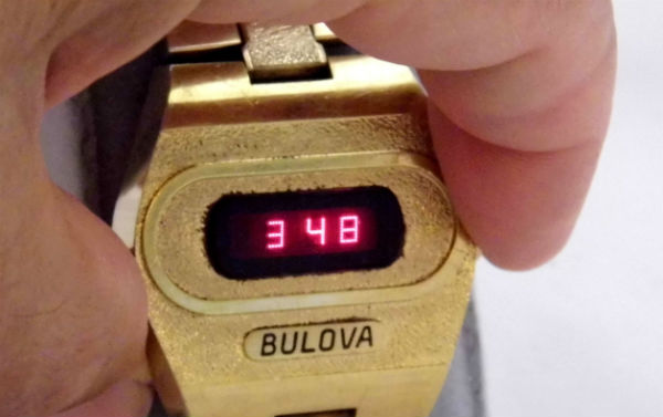 60-minute matches could be timed on this watch