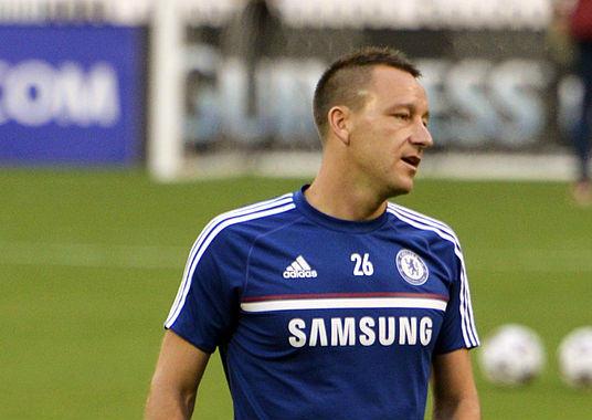 John Terry has just left Chelsea for Aston Villa