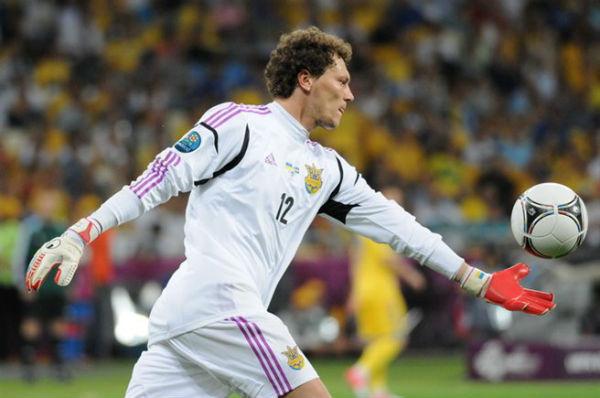 Shakhtar Donetsk goalkeeper Andriy Pyatov