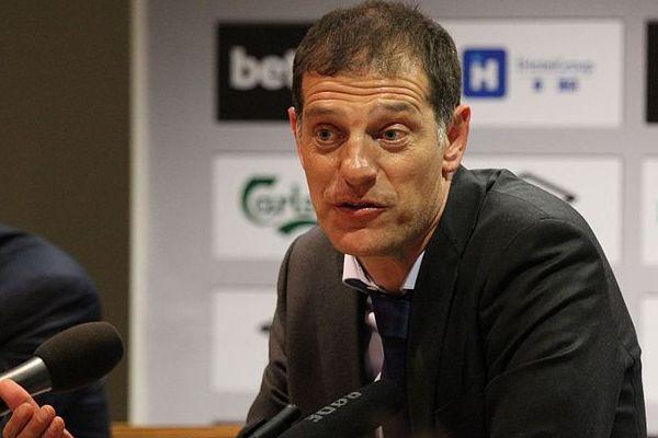 West Ham manager Slaven Bilić