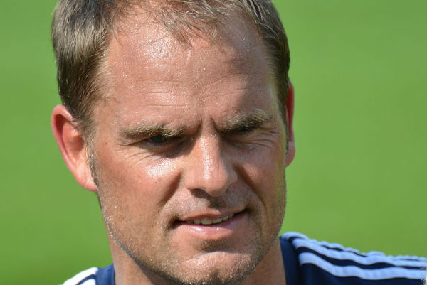 Frank de Boer, sacked by Crystal Palace
