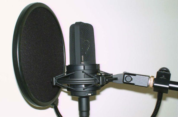 A microphone, the likes of which John Motson might have commentated into