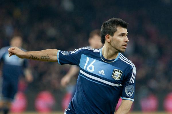 Man City striker Sergio Agüero was injured in a car crash