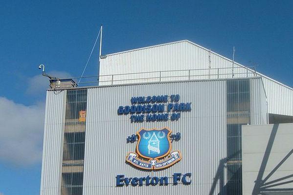 Everton's stadium Goodison Park