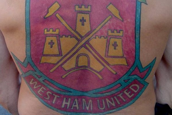 The man with a West Ham tattoo will have enjoyed the jokes and tweets after their 2-3 win against Spurs at Wembley in the Carabao Cup