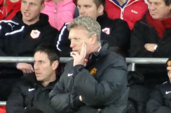 David Moyes managing Man Utd