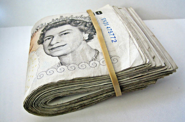 This wad of cash represents transfer deadline day jokes