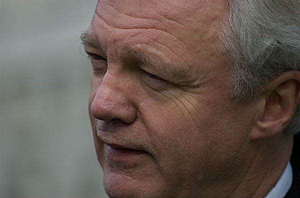 David Davis MP agreed on a Spurs penalty