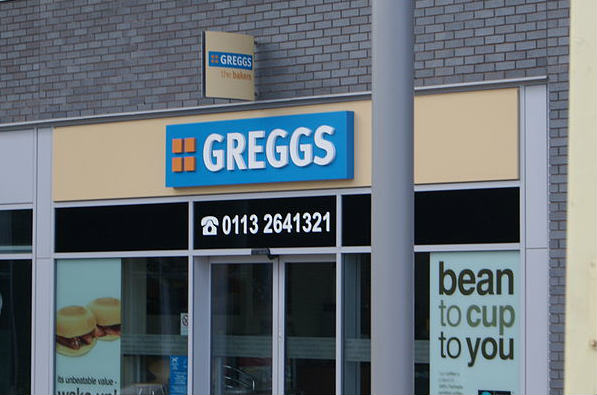 This Greggs is not in Wigan or on fire