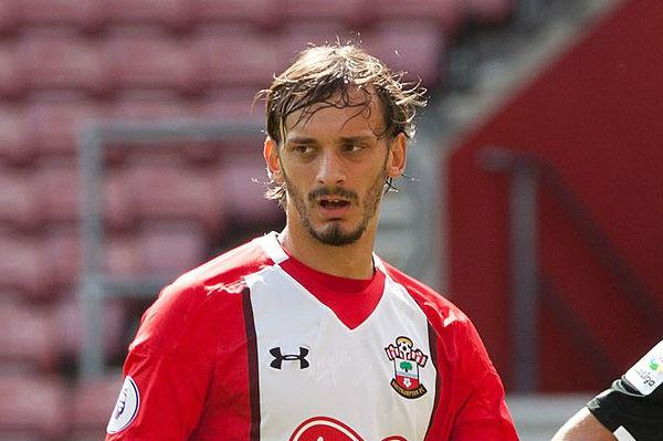 Southampton's Manolo Gabbiadini scored a crucial goal against Swansea