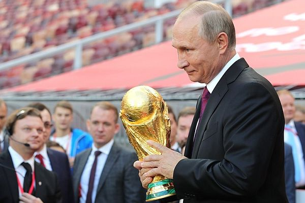 Putin can enjoy the latest World Cup jokes before Russia 2018 takes place before him