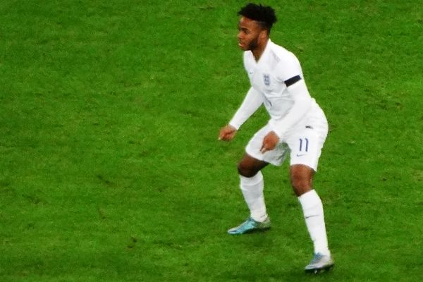 There were lots of jokes after Raheem Sterling's dive against Nigeria in a friendly at Wembley