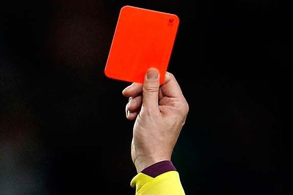 There were many tweets and jokes from Colombia 1-2 Japan after first red card of the tournament