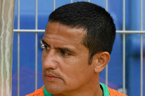 Tim Cahill finally played so had to stop reading the jokes from Australia 0-2 Peru
