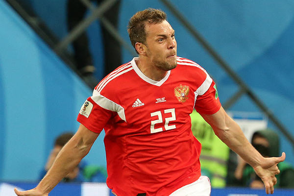 Artem Dzyuba is one of our McDonald's FIFA World Cup Fantasy tips for forwards in the quarter-finals of Russia 2018's official fantasy football