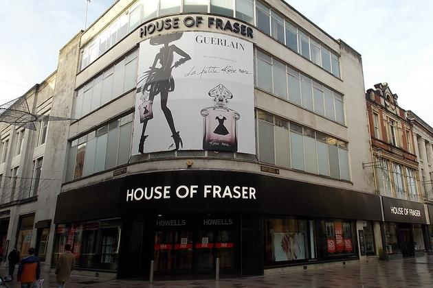 There were jokes, mostly from Newcastle fans, as Mike Ashley's Sports Direct bought House of Fraser