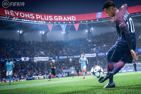 Lots of FIFA 19 jokes accompanied the game's full release