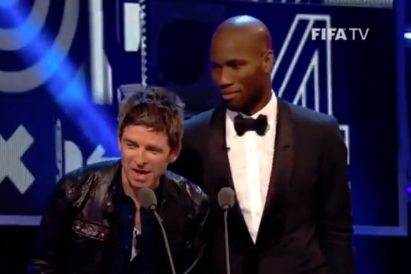 Noel Gallagher and Didier Drogba would enjoy the jokes from The Best FIFA Football Awards 2018 ceremony
