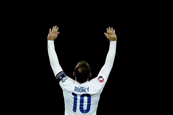 There were jokes from England 3-0 USA, Wayne Rooney's farewell international