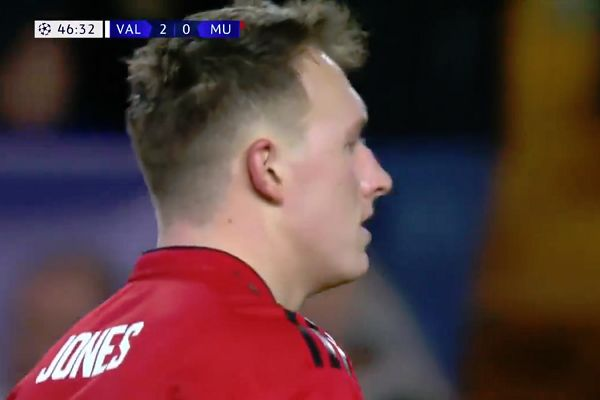 There were Phil Jones own goal jokes and tweets after he scored for Valencia in Man Utd's 2-1 defeat in the Champions League
