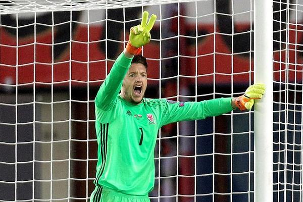 There were lots of Wayne Hennessey 'Nazi salute' jokes and tweets after the Crystal Palace goalkeeper appeared to perform the gesture associated with Hitler in a squad photo, but he denies it