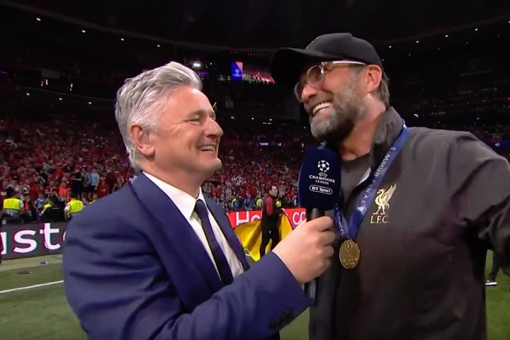 Jürgen Klopp can enjoy the funny tweets and jokes from the Champions League final after Liverpool 2-0 Tottenham