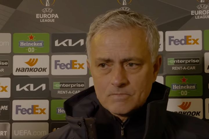 José Mourinho is probably not in the mood for the tweets and jokes after Dinamo Zagreb 3-0 Spurs meant his side was knocked out of the Europa League