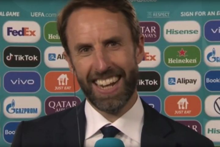 Gareth Southgate can now enjoy the tweets and jokes from England 4-0 Ukraine, Euro 2020 quarter-final