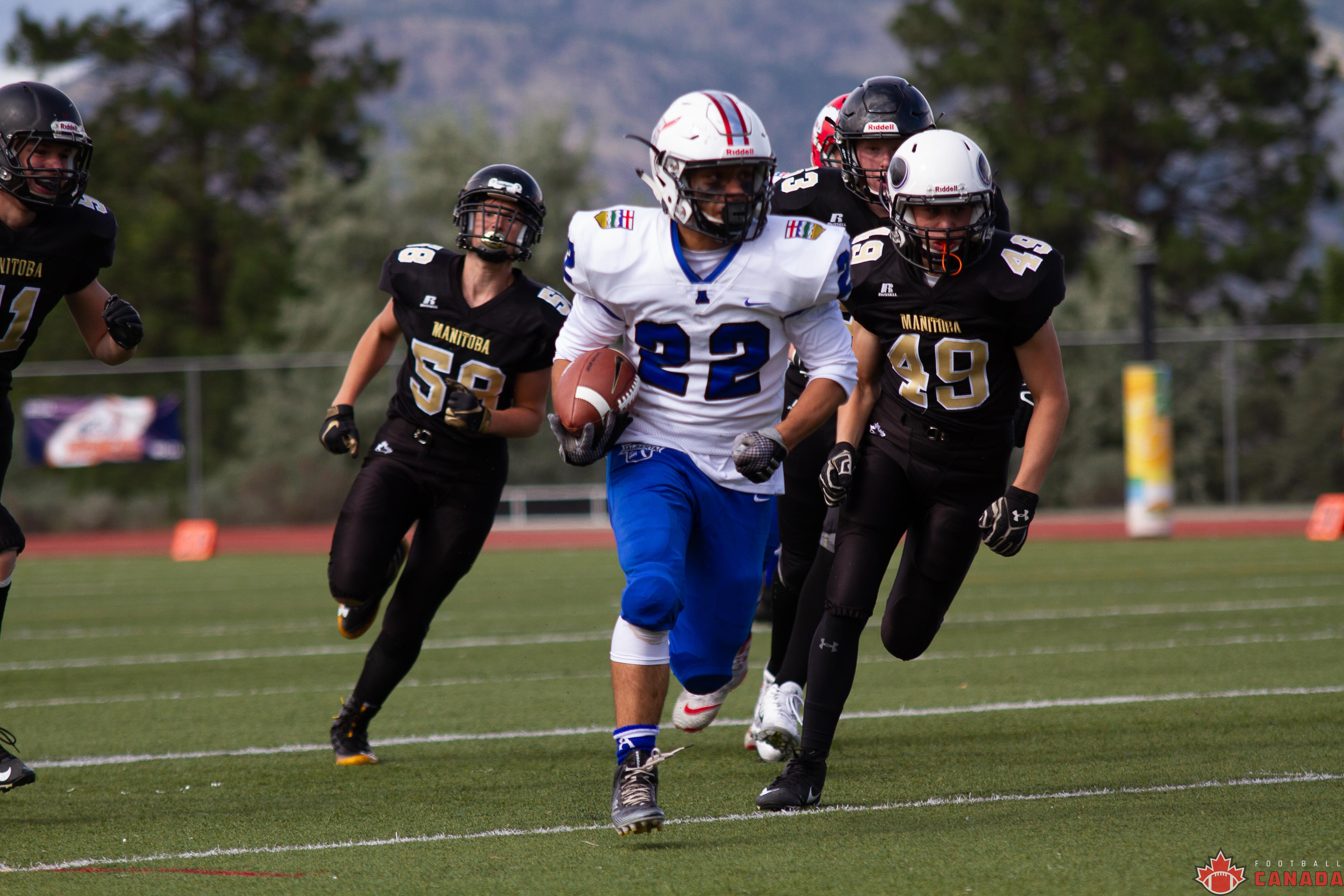 Under-16 Western Challenge: Alberta's dominance leads to bronze medal victory over Manitoba