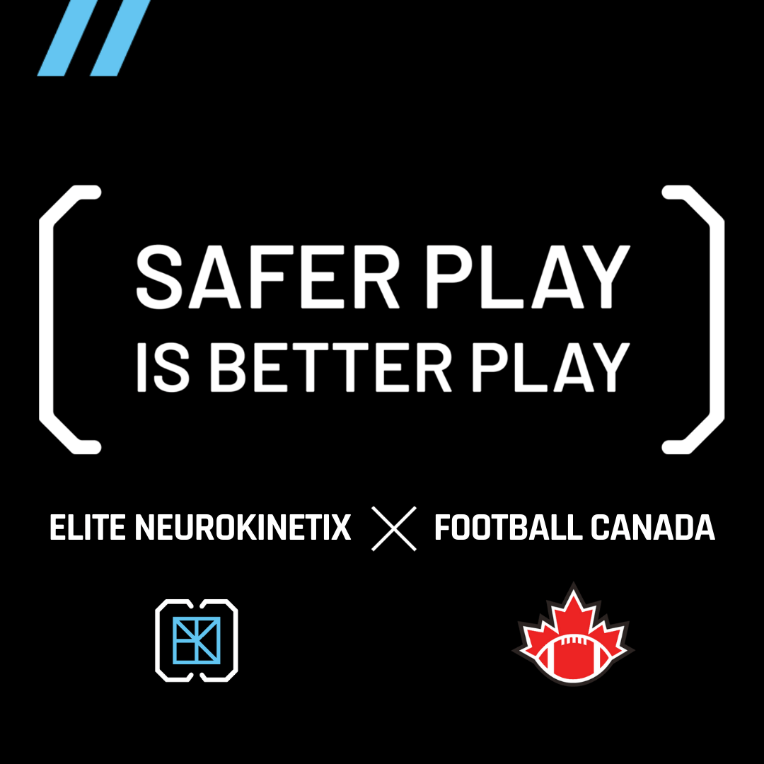 ELITE NEUROKINETIX BECOMES AN OFFICIAL PARTNER TO HOST RESEARCH OPERATIONS FOR FOOTBALL CANADA