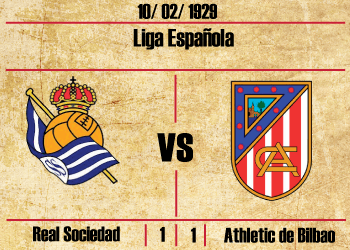 real sociedad athletic primer derbi vasco euskal derbia de la liga 1929