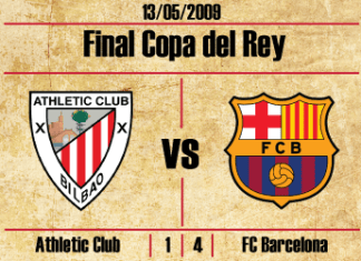 final copa del rey 2009 athletic club de bilbao barcelona pitada himno